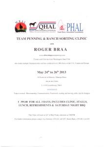 Roger Braa-Clinic 24-26. May, 2013